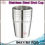NBRSC 4 Pcs Mini Stainless Steel Cup Mug Drinking wine Beer Tea Coffee Tumbler Camping Travel