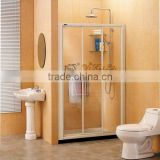 three doors linked sliding doors screen QA44