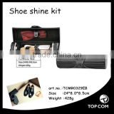 Good quality leather shoe care kit