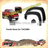 Hot sell 4x4 accessories fender flare for pick up Taco ma