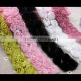 Beautiful Wholesale Chiffon Flower, Rosettes Flowers, Shabby Chiffon Flower for Headwear/Garment/Dress/Wedding /decoration