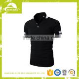 custom 100% cotton cheap black blank tshirt wholesale china