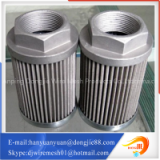 Newest arrival design pleated metal tube stainless steel air filter element
