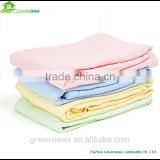 100% cotton knitted blanket soft bedding set bath sheet foot coverlet factory cotton blanket
