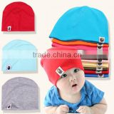 wholesale plain knit cotton baby beanie hat