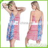 2017 new product latest cotton fashion woman sexy cover up beach dress wholesale