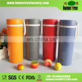 2015 new BPA free reusable plastic cup with handle 550ml