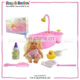 Battery Operation Bathtub With Music Doll Pony Horse Dolls Girl's Toy Plastic Toys Children Toy