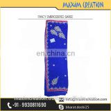New Fancy kolkata Made Women's Wedding Party Wear Saree