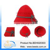 Womens wool felt mountain hardwear hat with polyester rope