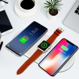 2018 latest high quality 3 in 1 wireless quick charger NW-T for samsung,iphone,iwatch