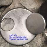 Industrial flat bottom flanging dish head with carbon steel