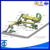 High Quality Low Consumption Compound Fertilizer Granulator Machine Product Line