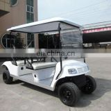 Wholesale Electric competed gas powered 4 seater golf carts with CE approval (AX-B4+2)