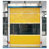 PVC curtain and Galvanized Steel frame High-Speed Fabric Doors