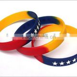 factory produced fashion bracelet silicone