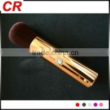 Makeup face brush portble use with beautiful crystals