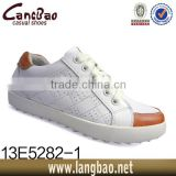 New style leather casual men sneaker shoe for man