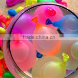 biodegradable water balloons, standard color or fluorescence, natural latex balloons, a good tool to relieve summer hot!