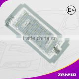 12 years manufacturer experience factory Professional for BMW Provide led license plate lamp e46 m3 No error