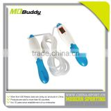 China cheapest price bearing jump rope with calorie counter