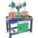 High Speed Beautiful Double Ribbon Or Two-Color Tape Braiding Machine