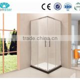hot sell wholesale comfortable bathroom shower walk in glass shower enclosure, shower screen