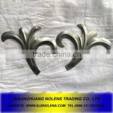 Iron leaves ,stamped brass ornaments,wrought iron sheet