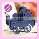 Creative Design 3D Baby Car Invitation Party Card Greeting Card 3D-26