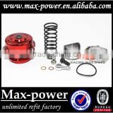 high quality universal auto turbo aluminum blow off valve new design mp-bov-50mm black silvery red