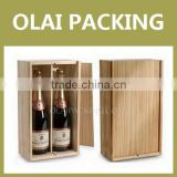 2014 luxury cushion product wine case for sale