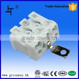 16A 450V 3 way electrical terminal block with ground                                                                                                         Supplier's Choice
