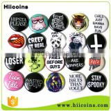 Cheap Price Custom Made Metal Blank Button Badges                                                                         Quality Choice