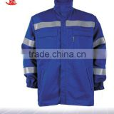 Flame resistant safe work jacket/Safety Fire Resistant Clothing by Flame Retardant Cloth