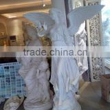 Cast stone large angel sculptures