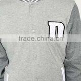 Hot Sale Custom Jacket Button Up Hoodies Men Fleece Jacket Running Man Outside Wear Hoodies