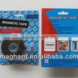 magnetic tape roll with dispenser