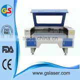 Two laser heads co2 fabric laser cutting machine with competitive price