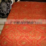 Beatuiful Ethnic Hand Embroidered Bed Covers BedSheet