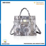 2016 snake skin handbag for women, brand name snake leather hand bags                                                                         Quality Choice