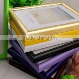 colorful tabletop and wall mounted plastic photo frame 20*30cm for wholesale