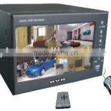 LCD DVRs, LCD Standalone DVR with 7Inch TFT color screen, YS-8004 DVR