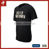 Traditional heat transfer printing plain black polo shirt,casual tee shirt,sublimation polo shirt with cone collar,
