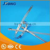 Advertising Best hook and loop ladder type stainless steel cable tie with Multi Lock Type