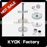 KYOK pole system Bar System series ,stainless steel pole system,2015 new design kitchen vegetable storage rack