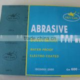 Blue stearate coated abrasive sheet with kraft paper and alumina for primer grinding and surface finishing