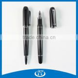 High End Luxury Gift Black Metal Fat Fountain Pen