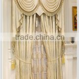 Indian style jacquard sheer curtain beaded valance curtains                                                                         Quality Choice