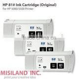 HP 81# Original Ink Cartridge For HP 5000 5500 Printer (Genuine HP Cartridge Better Price)