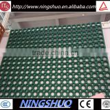 Grease proof anti fatigue non slip rubber drainage mat for commercial kitchen